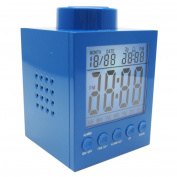 LEGO Alarm Clock - Blue