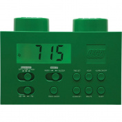 LEGO Alarm Clock Radio - Green