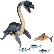 Animal Planet Deep Sea Exploration Playset Elasmosaurus with Exploration Raft