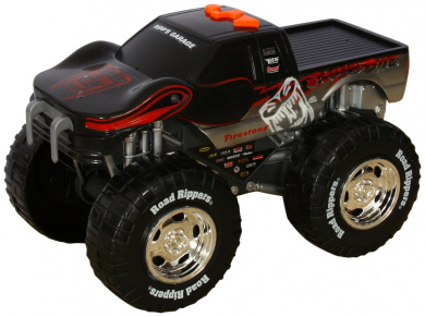 Toystate Road Rippers Light And Sound Wheelie Monsters: Snake Bite