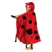 Kidorable Kidorable ladybug towel medium Ladybug Towel with Hood and Pocket - Medium