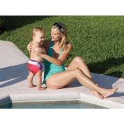 Swimways Swim Diaper - Blue and Green - Size Medium
