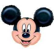 """Party - SuperShape Foil Balloon - Mickey Mouse (27x21""""/69x53cm) - Amscan"""