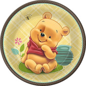 Winnie the Pooh Baby Pooh And Friends 27cm Dinner Plates - 8-Pack