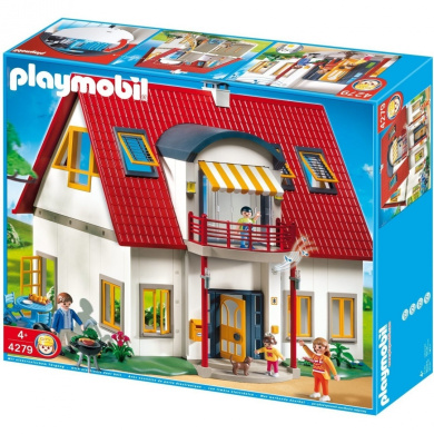 Playmobil 4279 suburban house by playmobil shop online for Maison playmobil 4279