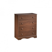 South Shore 3646034 Country Heavenly 4 Drawer Chest in Royal Cherry