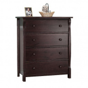 Sorelle Princeton 4-Drawer Dresser - Espresso