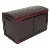 Badger Basket Barrel Top Toy Chest - Cherry