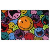 La Rug Multi Colored Rug - Smiles & Laughs - 39x58 inch