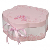 Mele & Co Ella Girls Musical Ballerina Jewellery Box