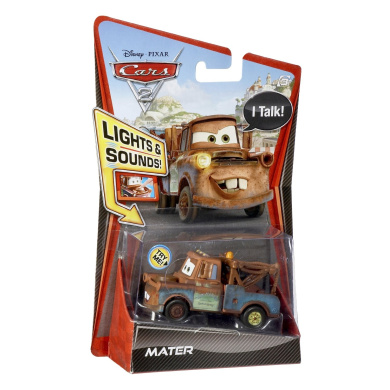 Cars 2 1:55 Lights And Sounds Mater Vehicle