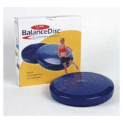 36cm Diameter FitBALL Balance Disc in Blue for Balance & Stability