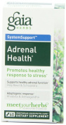 Gaia Herbs Adrenal Health with Holy Basil & Rhodiola, Liquid-Filled Capsules 60 capsules