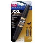 Maybelline XXL Extension XX-Treme Length Microfiber Mascara, Brownish Black 592 1 ea