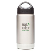 Klean Kanteen 350ml Insulated Stainless Water Bottle w/ Stainless Loop Cap