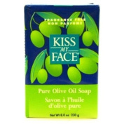 Kiss My Face Pure Olive Oil Bar Soap, 240ml Bars