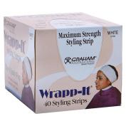 White Wrapp-It Styling Strips