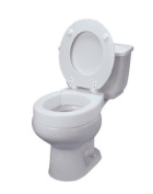 Elongated Hinged Toilet Seat