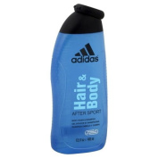 Adidas Shampoo + Body Wash, After Sport, 400ml