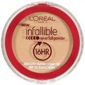 L'Oreal Infallible Never Fail Powder 670 Buff Beige