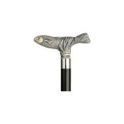Unisex Fish Cane Black Shaft