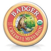 Badger Aromatherapy Cheerful Mind Balm -- 20ml