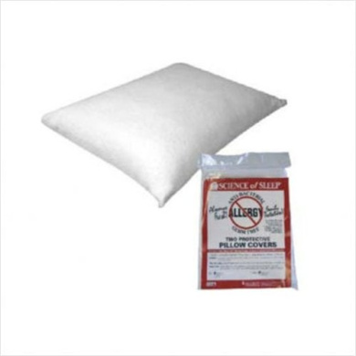 Science of Sleep Allergy Free Pillow Protectors-Twin Pack