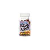 Nutrition Now Rhino Chewy C Plus Zinc & Echinacea, Orange, Cherry, Strawberry, Lemon 60 gummy bears