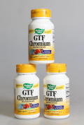 Natures Way 0815845 GTF Chromium Polynicotinate - 100 Capsules