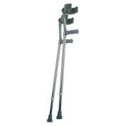 Lumex Deluxe Adjustable Forearm Crutches Crutch, Small