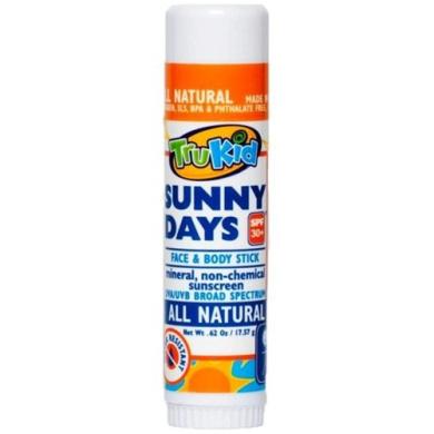 TruKid Sunny Days Face & Body Stick, 20ml