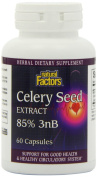 Natural Factors Celery Seed Extract, 60 Capsules