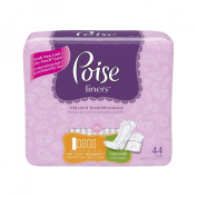 Poise Pantiliners, Very Light Absorbency, 44 pantiliners