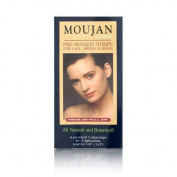 Moujan 2000 Press On Pull Off Pre-waxed Strips for Face 12 Applications