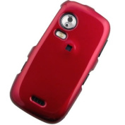 Crystal Hard Red Solid Cover Case for for Samsung INSTINCT HD M850