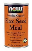 Now Foods Flax Seed Organic Meal, Meal 350ml