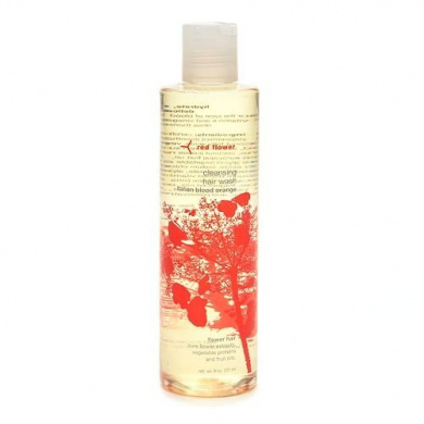 red flower cleansing hair wash, italian blood orange 8 fl oz (237 ml)