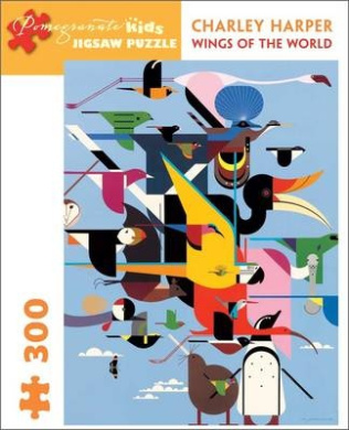 Charley Harper: Wings of the World Jigsaw Puzzle: 300 Piece (Pomegranate Kids Jigsaw Puzzle)