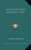 Astrology and Romance 1936