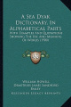 A Sea Dyak Dictionary, in Alphabetical Parts a Sea Dyak Dictionary, in Alphabetical Parts