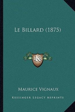 Le Billard (1875)