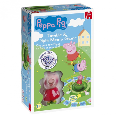 Peppa Pig Tumble & Spin Electronic Memory Game