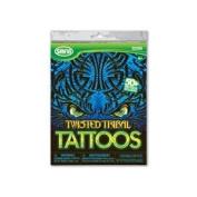 Twisted Tribal - Girls / Boys Tattoos - 50+ assorted temporary tattoos