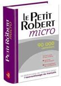Le Petit Robert Micro - Was Le Robert Micro Poche  [FRE]