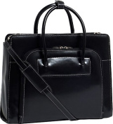 """W Series Lake Forest Leather Women's 15.4"""" Laptop Case"""