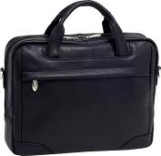 """Bronzeville Leather 15.4"""" Laptop Brief"""