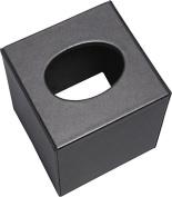 Leather Tissue Holder (Black)