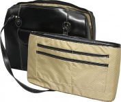 "Glenview 15.4"" Leather Ladies Laptop Case"