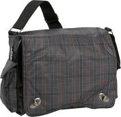 Messenger Plaid Diaper Bag