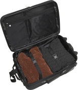 Deluxe 4-piece Camouflage Luggage Set